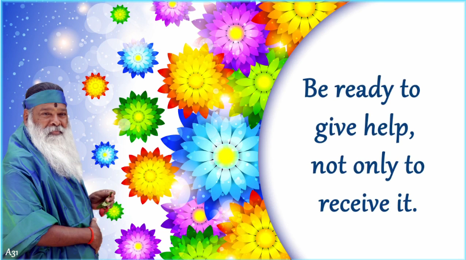 Be ready to give help (English) ~ June 30, 2013