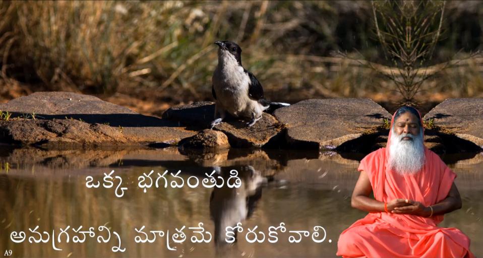 Long for Gods grace only (Telugu) ~ June 30,2013