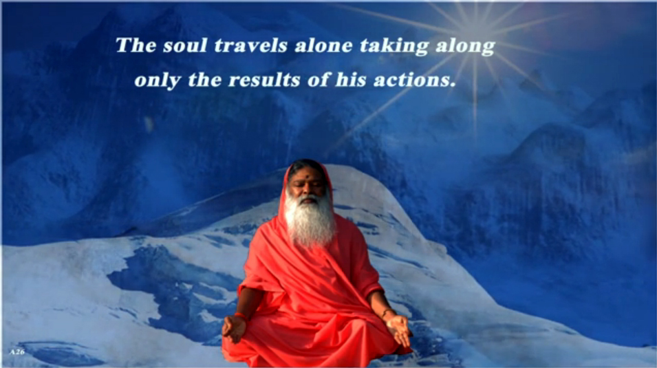 The soul travels alone (English) ~ July 23, 2013