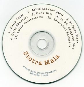 Stotra Mala - Front