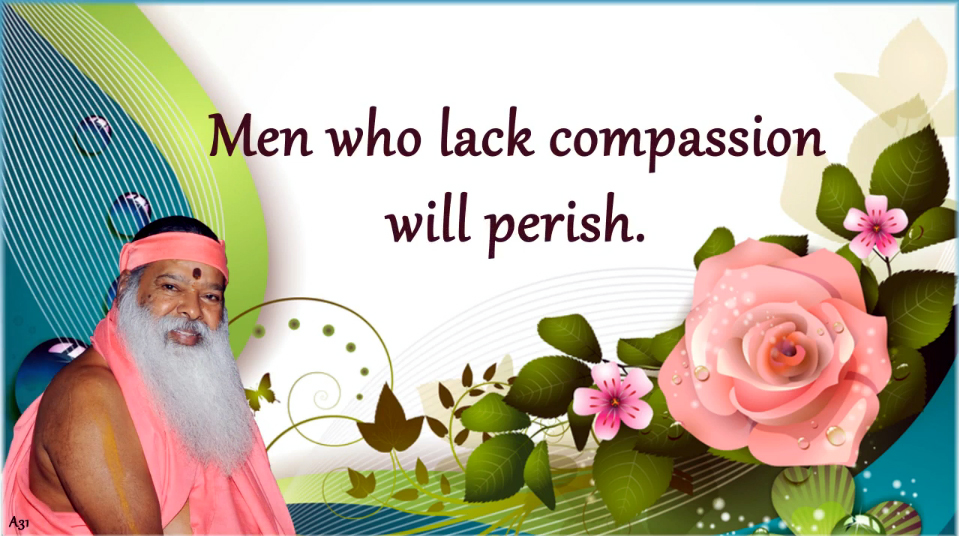 Lack of compassion
