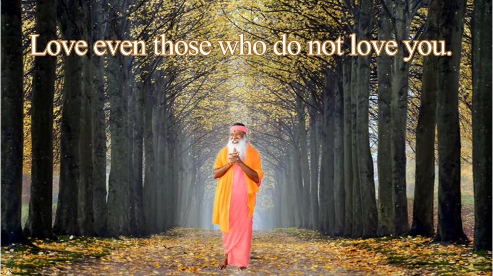 Love even those