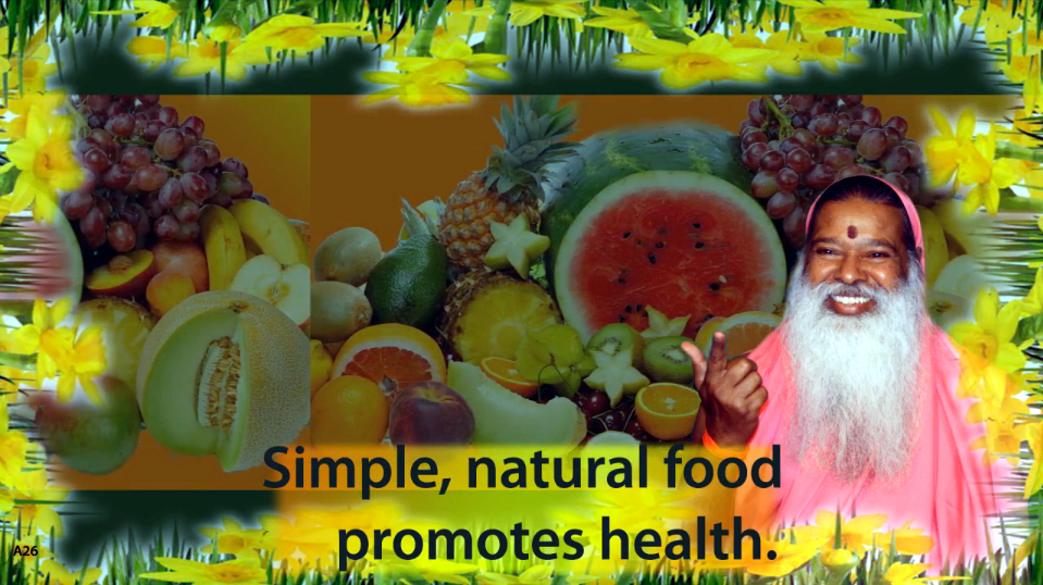 Simple natural food