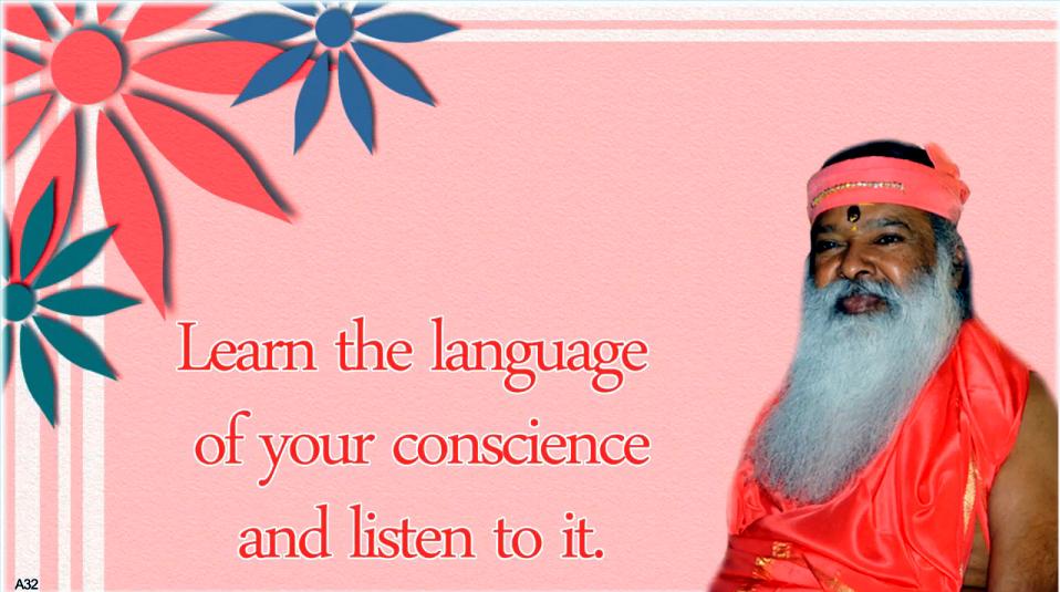 language of Conscience