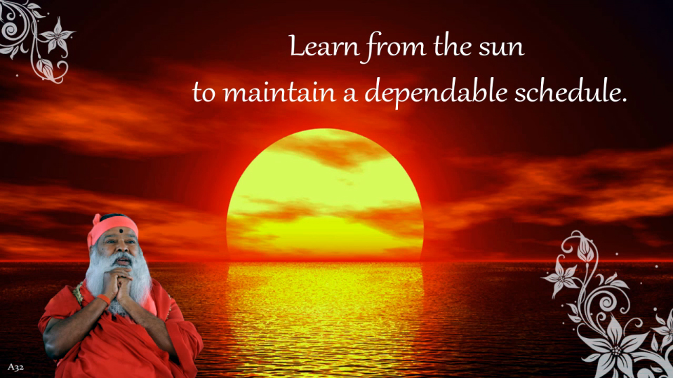 Learn from the Sun