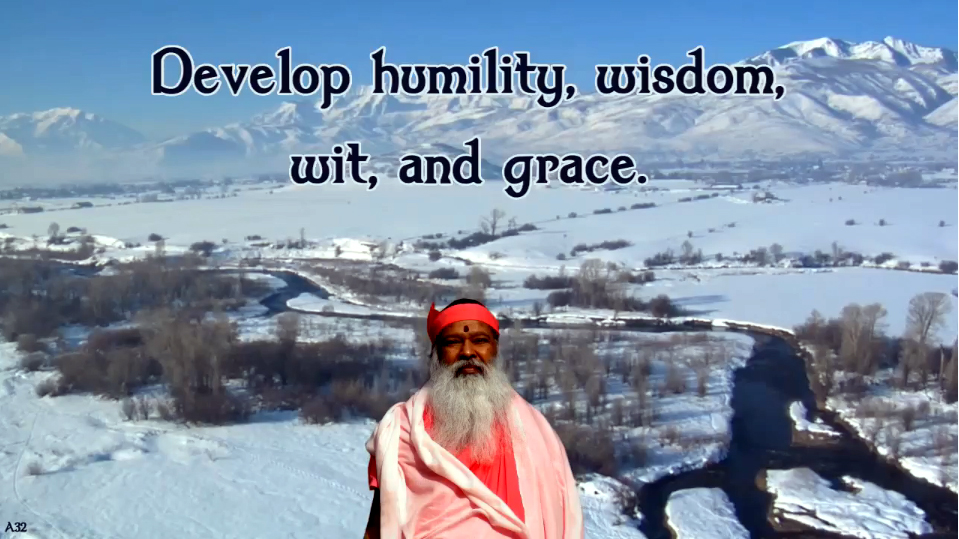 develop humility
